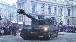 Österreichische Panzer vom Bundesheer am Nationalfeiertag 2020