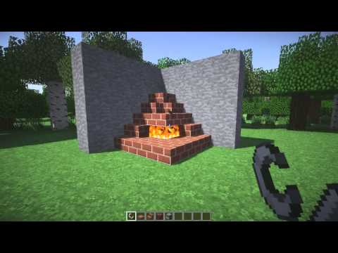 Minecraft Fireplace Tutorial: 3 Designs [NEW]