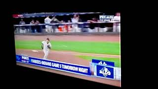 Fox5 News Yankees vs Indians Game 5 Video.