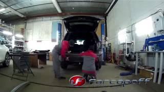 Установка фаропа Ford Explorer 2011-2016 в ФаркопОФФ