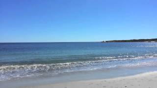 Crystal Crescent Beach On A Nice September Day In Nova Scotia