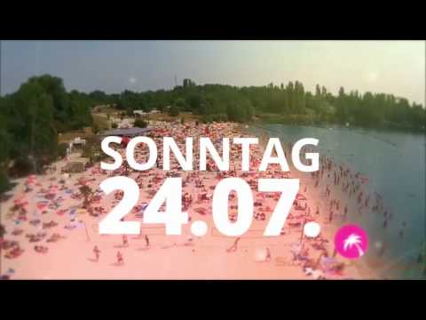 So 14.08. Sundownbeach Club Escher See by Antidepressiva - Beachparty