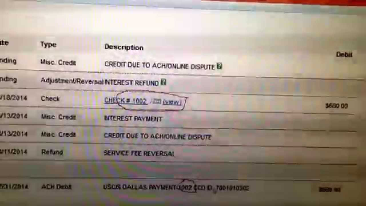N400 naturalization application one check has been deposited twice ...