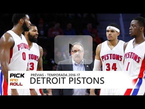 PRÉVIAS NBA 2016-17 - Detroit Pistons