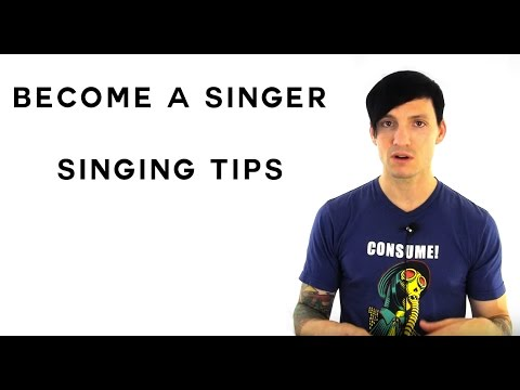 Singing Tips On How To Become A Singer