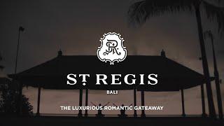 St. Regis Bali Resort | Hotel Video | The Luxuriou...