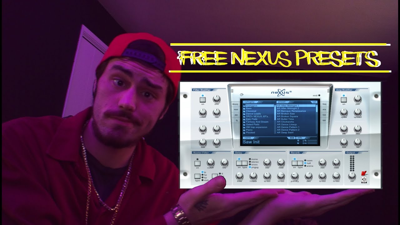 FREE Nexus Presets & How To Install Nexus Presets, FL Studios 20 (2019)
