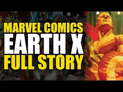 Everyone on earth gets superpowers (Marvel's Earth X: Full Story)