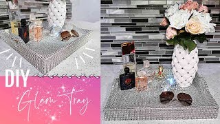 How to transform a tray! Very easy! GLAM TRAY !! 💎💎