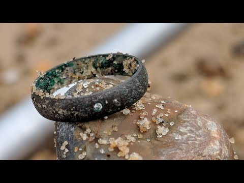 I found a diamond ring beach metal detecting in the UK using Ace 250 & Nel coil • day 3 • ✓ ©️180FH