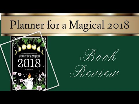 Planner For A Magical 2018 By Amy Cesari | Book Review
