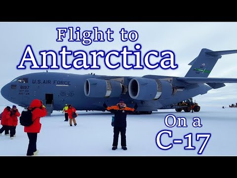 Flight to Antarctica, Christchurch to McMurdo Sound