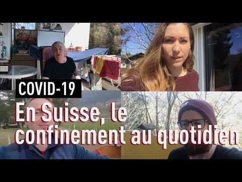 Coronavirus: la Suisse confinée, épisode 2