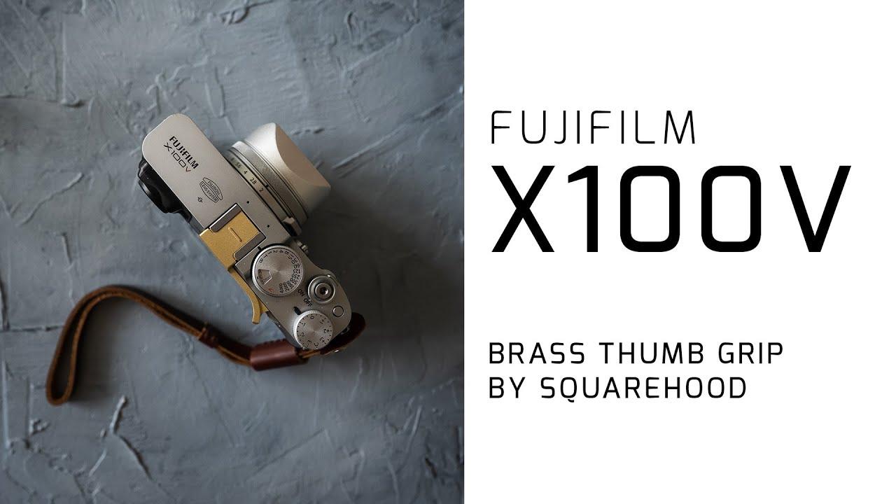 Download Fujifilm X100v Thumb Grip by Squarehood