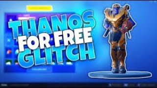 GET THANOS SKIN FREE ON FORTNITE (LEGIT)