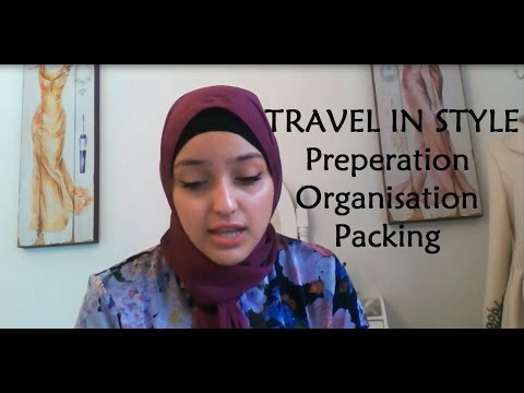 TRAVEL IN STYLE - Preparation, Organisation + Packing! | @sara_why - YouTube