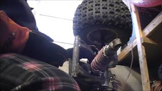 Honda TRX 300EX Swing Arm Bearing Replacement