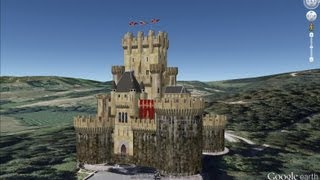 HISTORICAL PLACES OF SPAIN IN GOOGLE EARTH PART ONE ( 1/7 )