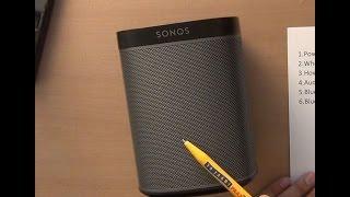 Sonos PLAY:1 in pieces. #HTNblog #3a