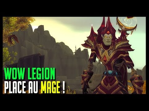 PLACE AU MAGE ! - WOW LEGION