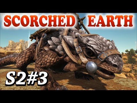 ARK Scorched Earth THORNY DRAGON TAMING + BASE BUILDING S2Ep3 Patreon Server