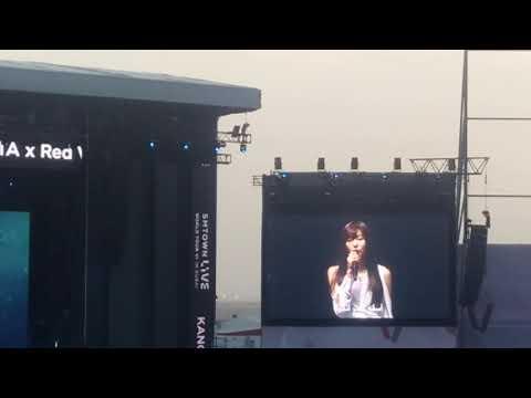 SMTOWN LIVE Dubai 강타+레드벨벳 슬기,웬디 - 인형 직캠 | KANGTA (FEAT. SEULGI, WENDY from REDVELVET) - Doll) FanCam