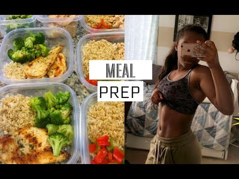 Healthy Meal Prep for Beginners | What I Eat!