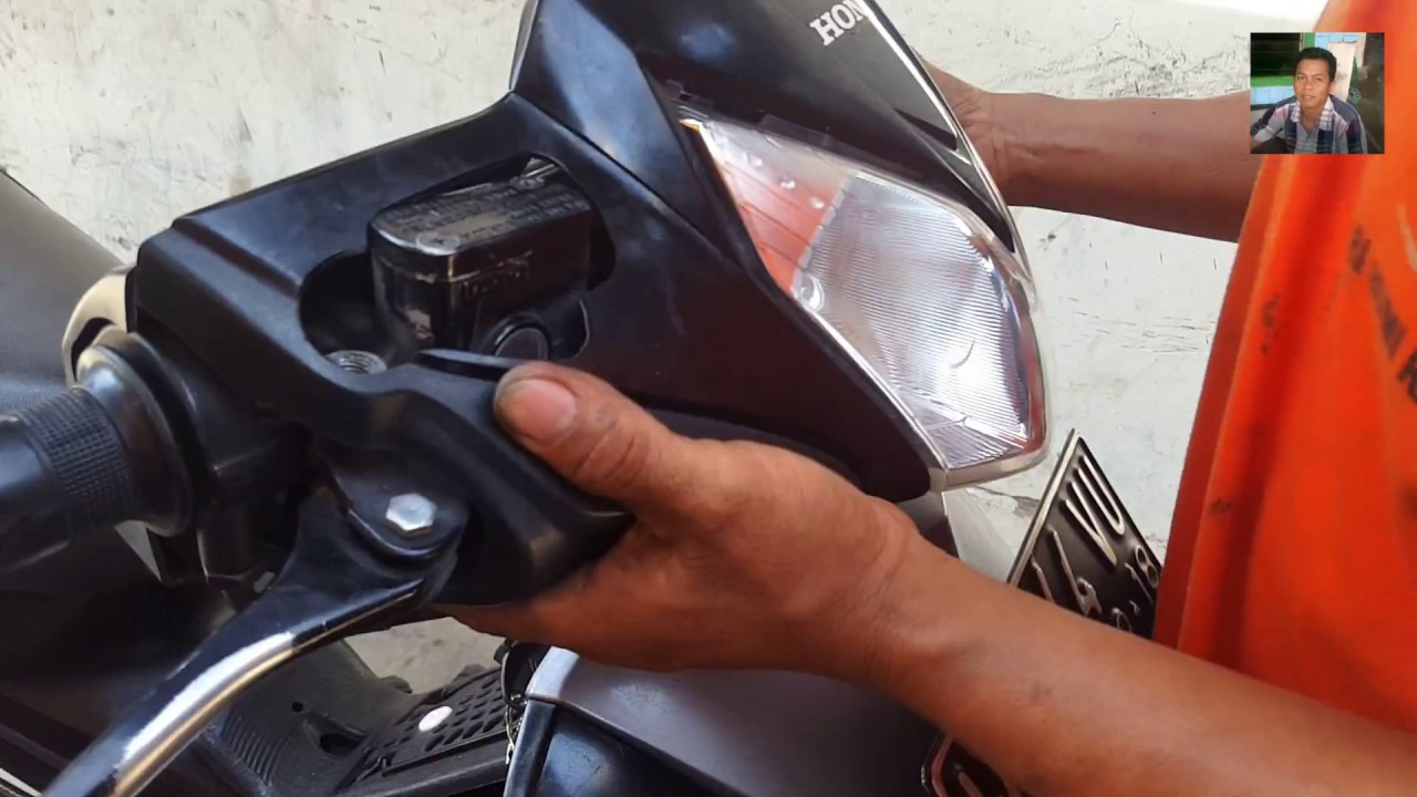 Cara Mengganti Lampu Depan Motor Honda Cara Ganti Lampu Utama