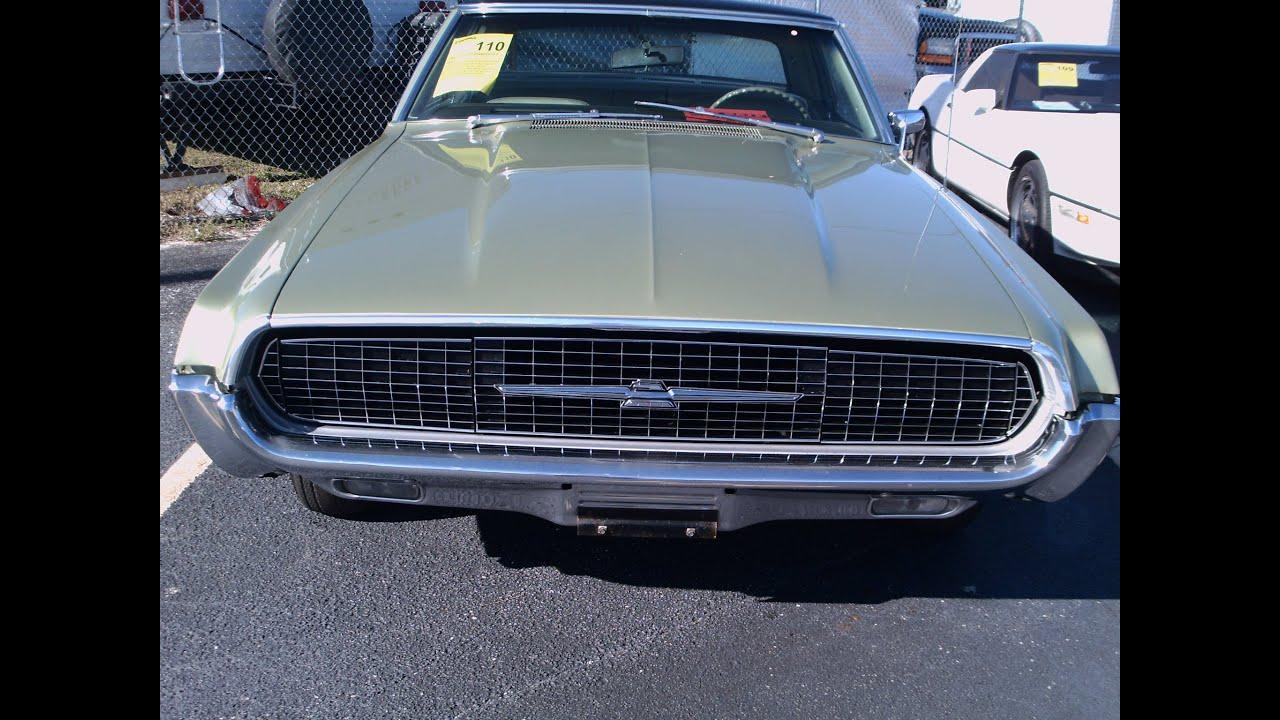 1967 Thunderbird Two Door Hardtop Grn - YouTube
