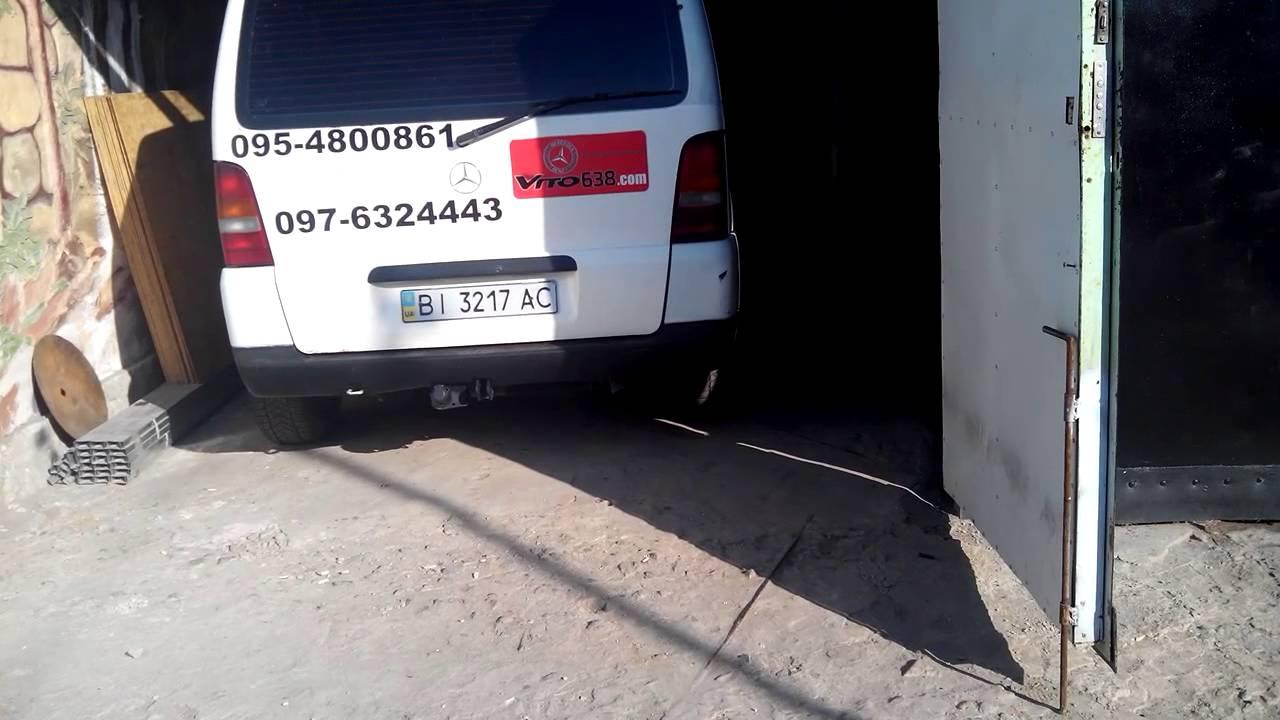 Mercedes Benz -638 - VITO -110ТД , КУЗОВ И ЕГО СЛАБЫЕ МЕСТА,ФИЛЬ 3 .