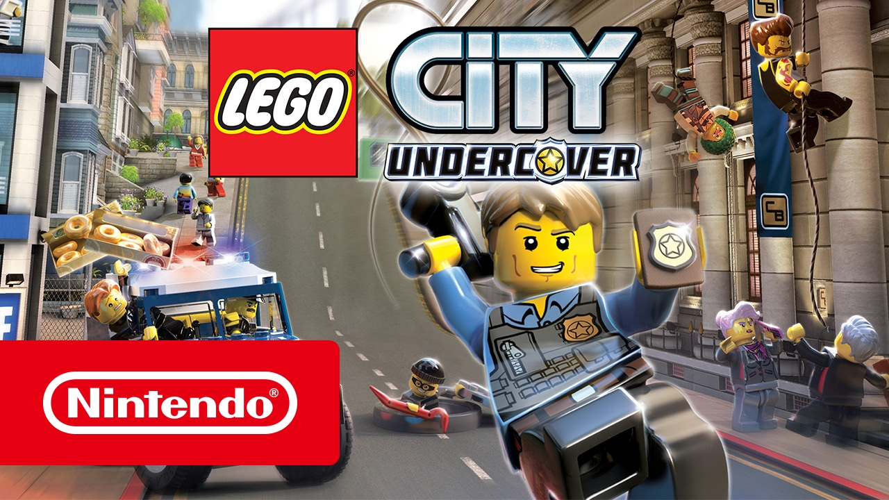 Lego City Undercover Trailer Nintendo Switch Youtube
