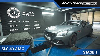 Mercedes SLC 43 AMG / Stage 1 By BR-Performance