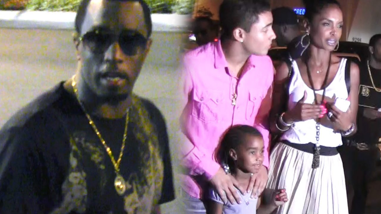 PDiddy Takes Ex Kim Porter Out For Mothers Day With Their