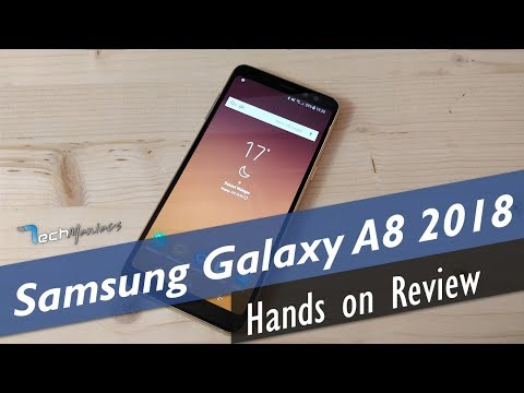 Samsung Galaxy A8 2018 Hands on Review [Greek]