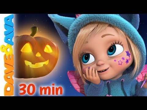 🔔 Little Pumpkin  - Halloween Songs for Kids | Nursery Rhymes by Dave and Ava 🔔
