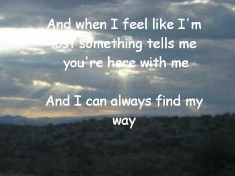 When I Look to the Sky- Train (lyrics)
