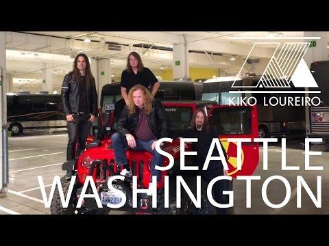 Megadeth Jeep in Seattle!