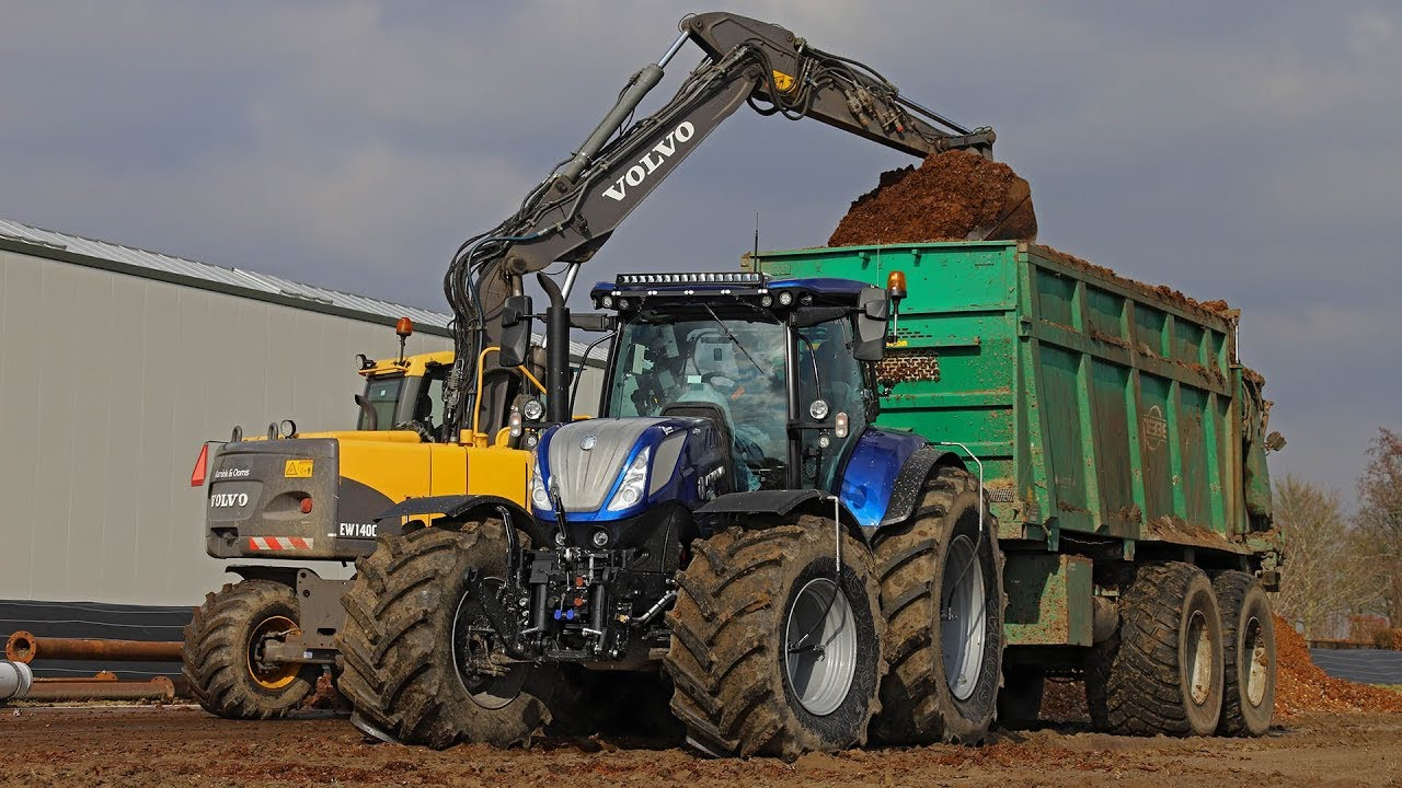 New New Holland T7 270 Blue Power Amp Tebbe Hs 220