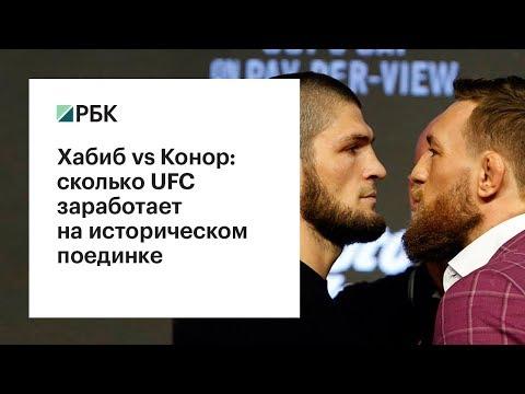 Хабиб vs Конор: сколько заработает UFC на историческом поединке