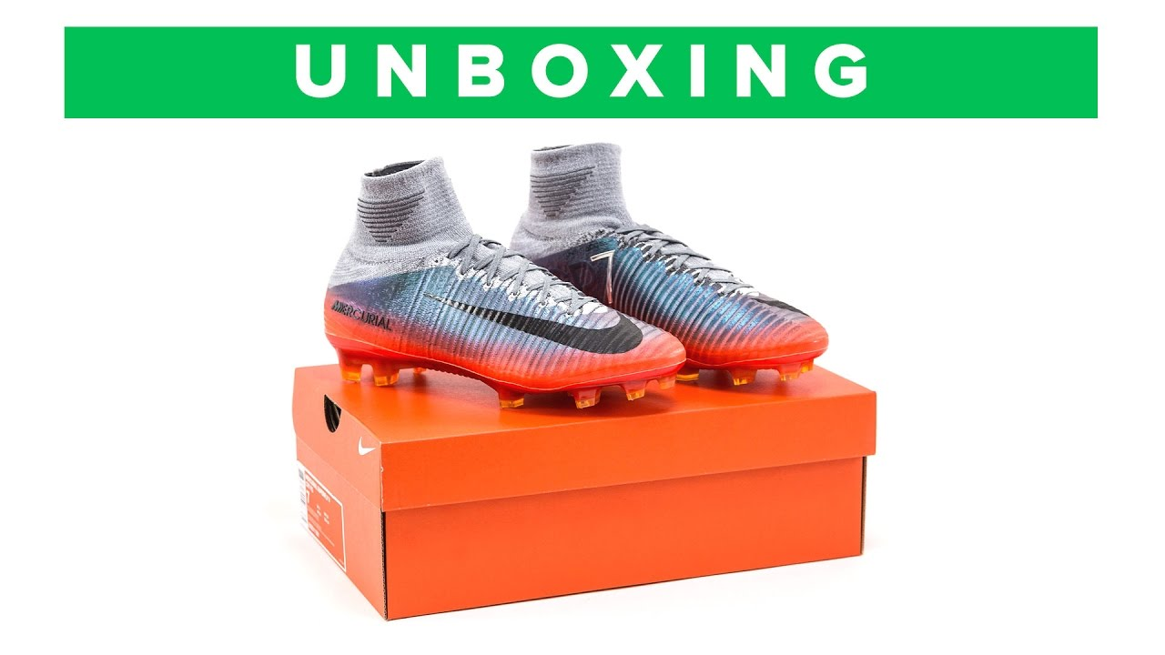 fc98da3bc CR7 NIKE MERCURIAL SUPERFLY 5 UNBOXING