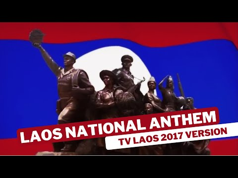 Laos National Anthem TV LAOS