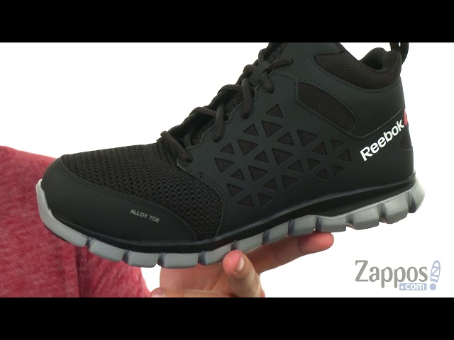 Reebok Work Sublite Cushion Work Mid SD at Zappos.com ee4aa8753