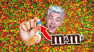 The first one to find M&M's will get $10000