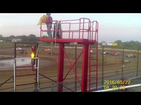 Lebanon Midway Speedway Midwest Mod feature 5 22 16