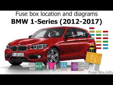 fuse box location and diagrams bmw 1 series 2012 2017 youtube. Black Bedroom Furniture Sets. Home Design Ideas