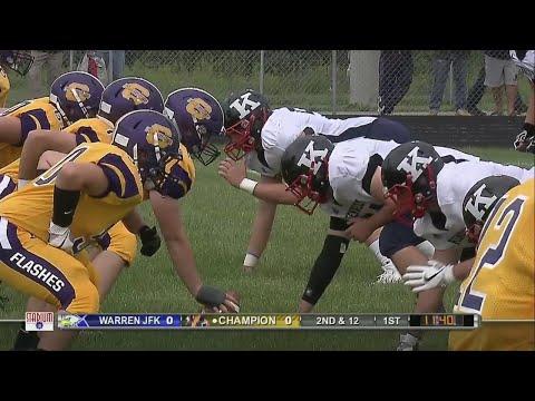 High School Football Game Of The Week: Champion Vs. Warren JFK, Pt. 1