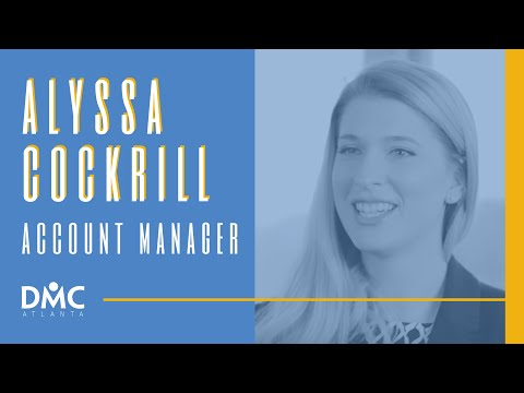 Alyssa Cockrill - DMC Atlanta Account Manager