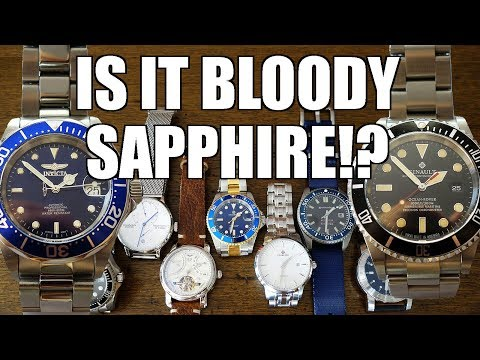 How To Tell If It's Bloody Sapphire? Diamond Selector II Review C/o TomTop - Perth WAtch #220