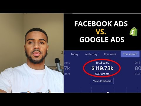 Facebook Ads Vs. Google Ads | Shopify 2019 thumbnail