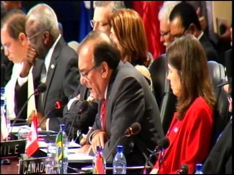 46th - Plenary Session AM - Guatemala Sep 19, 2014